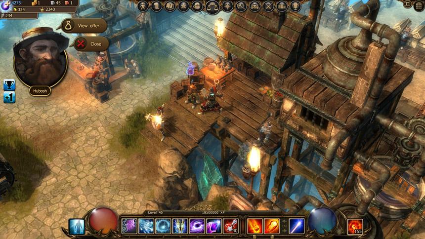 браузерная онлайн игра drakensang