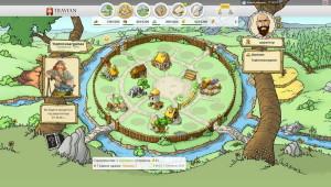 скриншот игры Травиан