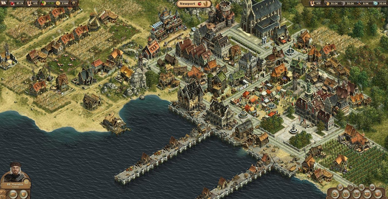 Скриншот к игре ANNO ONLINE