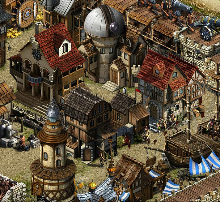 Скриншот к игре Кодекс пирата