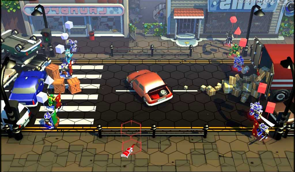 Скриншот к игре GunsWords: Tin Soldiers