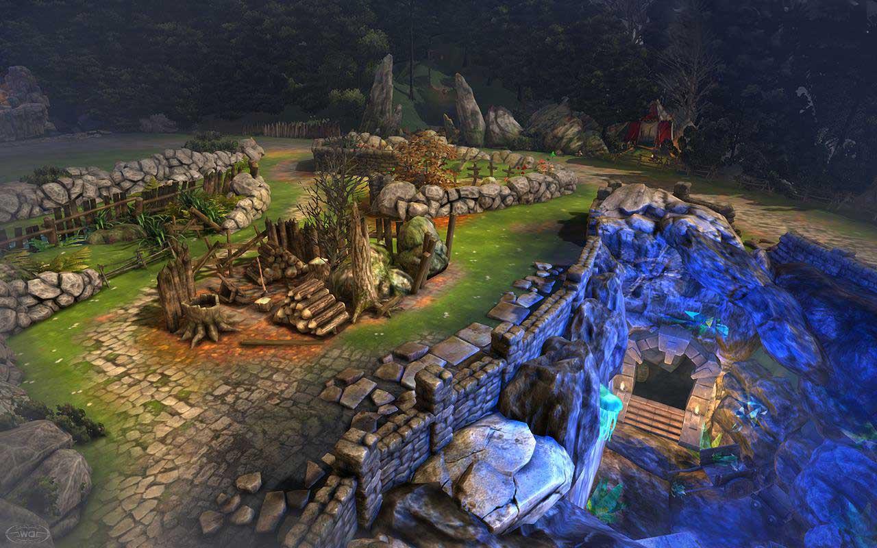 Скриншоты к игре Alvegia Online