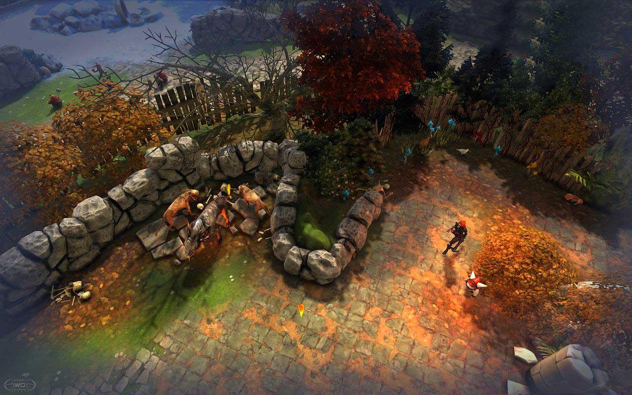 Скриншот к игре Alvegia Online