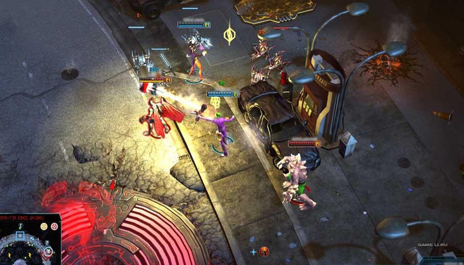 Скриншоты к игре Infinite Crisis