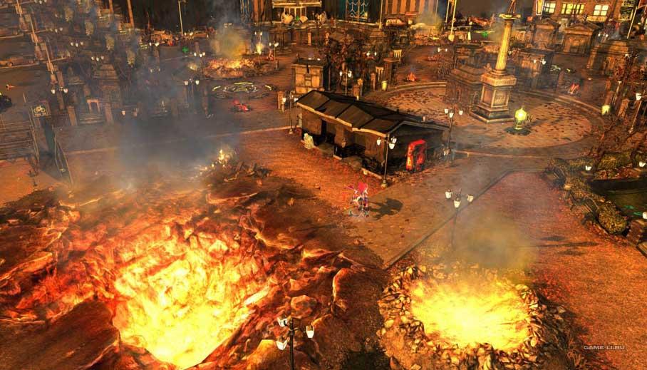Скриншот к игре Infinite Crisis