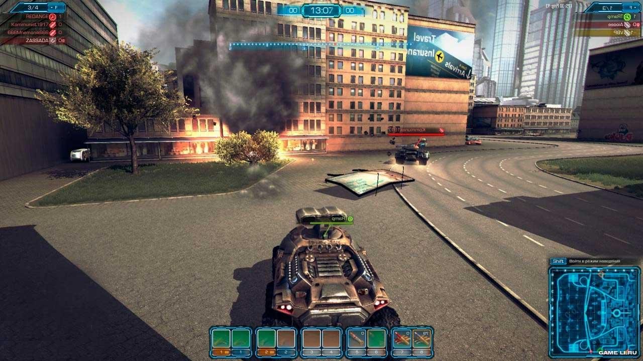 Скриншот к игре Metal War Online