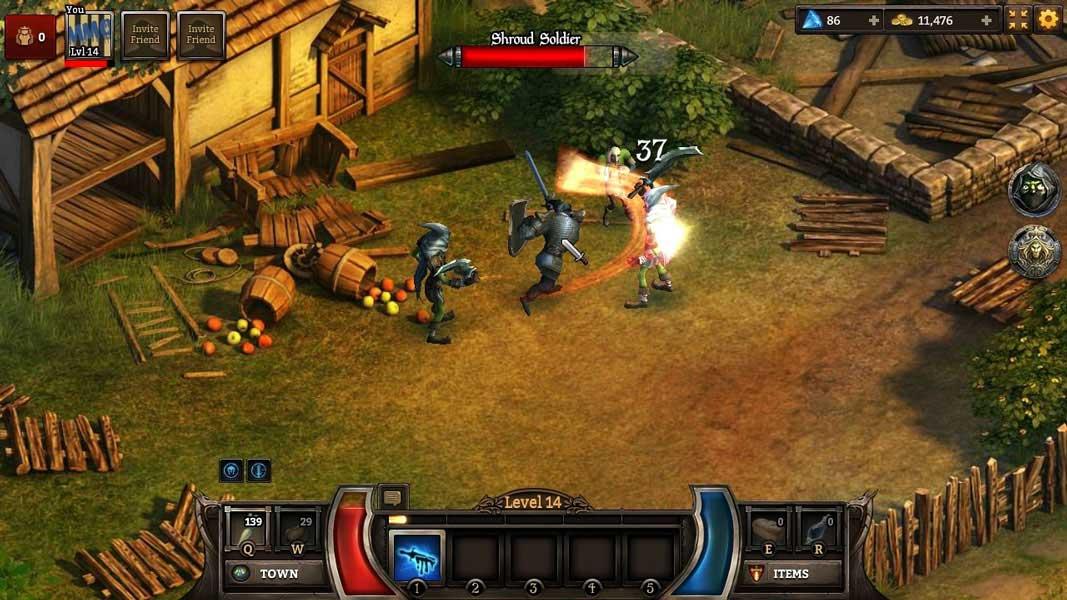 Скриншот к игре KingsRoad online
