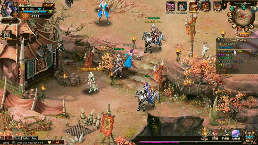 Скриншот к игре Лига Ангелов 3