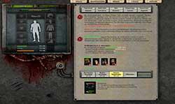 Скриншоты к игре Z-war - браузерная игра про зомби