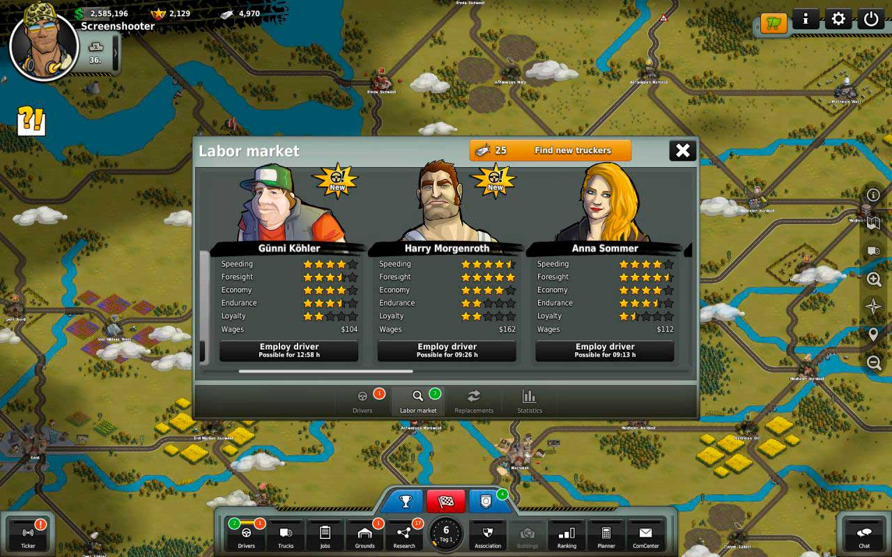 Скриншот к игре Truck Nation