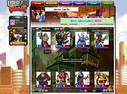 Скриншоты к игре Urban Rivals