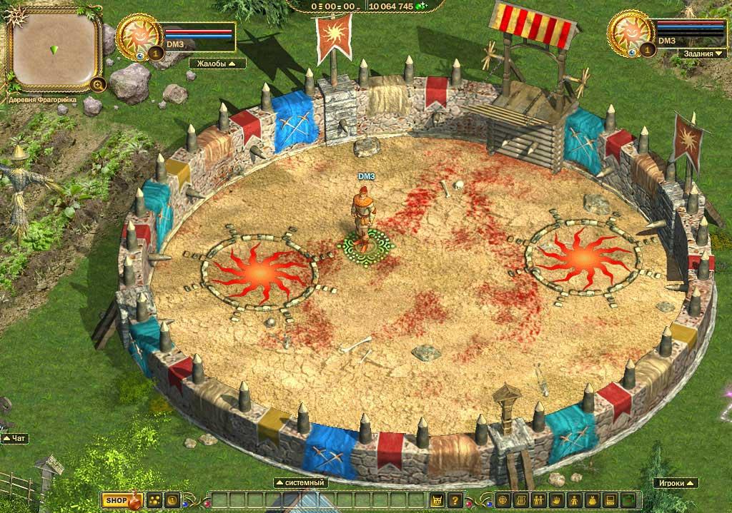 Скриншот к игре Фрагория