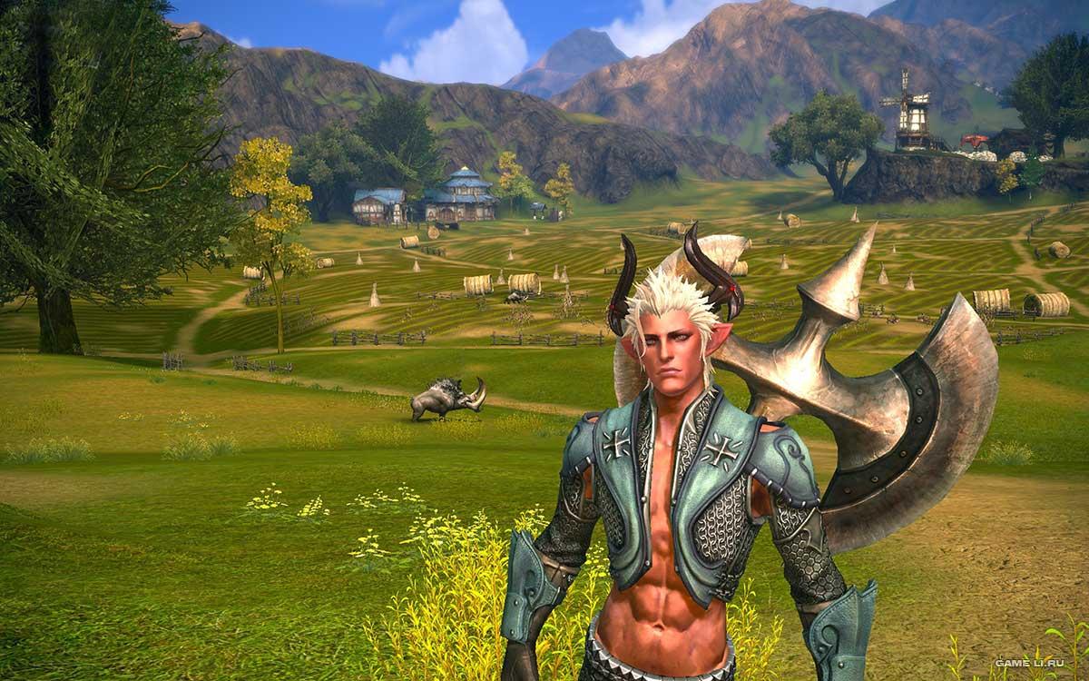 Скриншоты к игре Tera Online