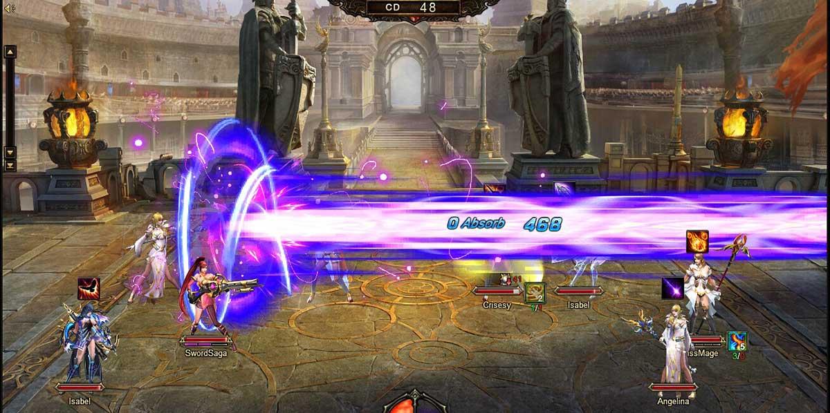 Скриншот к игре Sword Saga