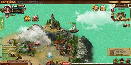Браузерная игра Морской бой