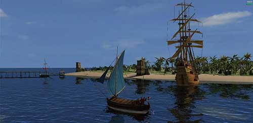 Wind of luck - в гавани