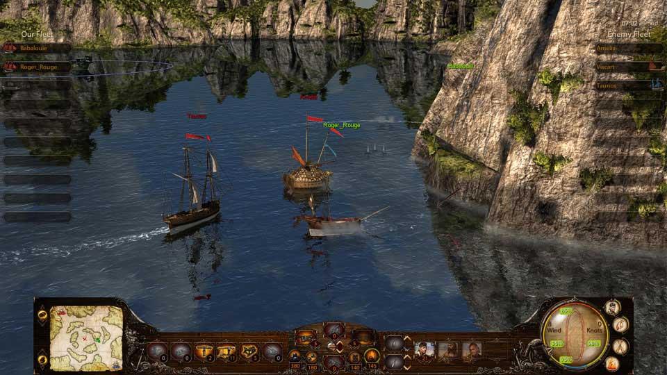 Скриншот к игре Wind of luck: Arena