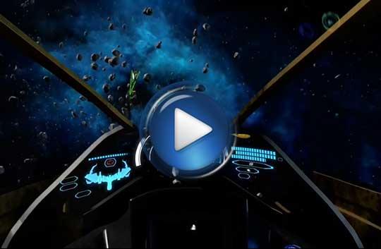 Официальный видео трейлер к игре DarkOrbit Reloaded