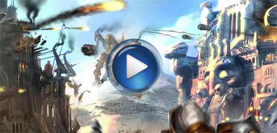 Официальный видео трейлер к игре DrakenSang online