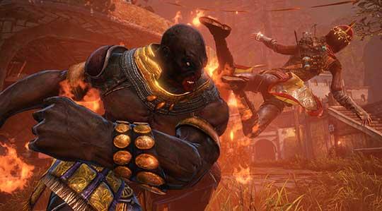 Nosgoth - битва
