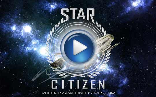 Официальный видео трейлер к игре Star Citizen