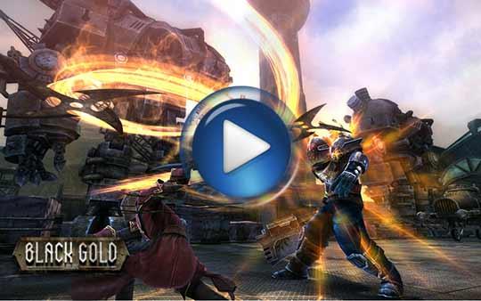видео трейлер к игре Black Gold Online (Блэк Голд)