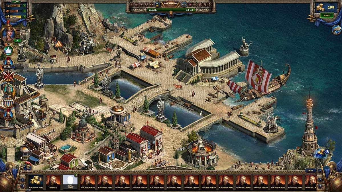 Скриншот к игре Спарта