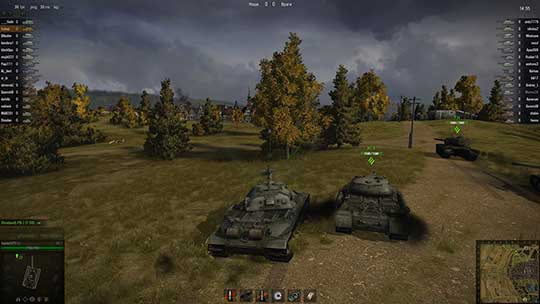 World of tanks - скриншот