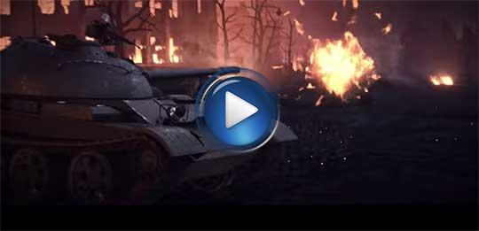 Официальный видео трейлер к игре World of Tanks