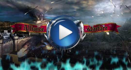 Официальный видео трейлер к игре Alliance WarFare