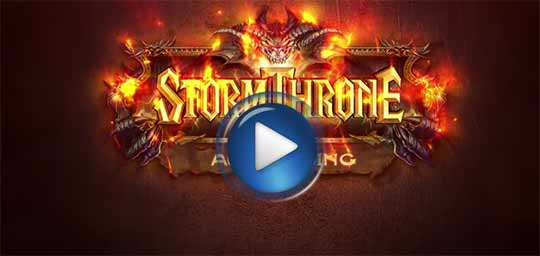 Официальный видео трейлер к игре Stormthrone