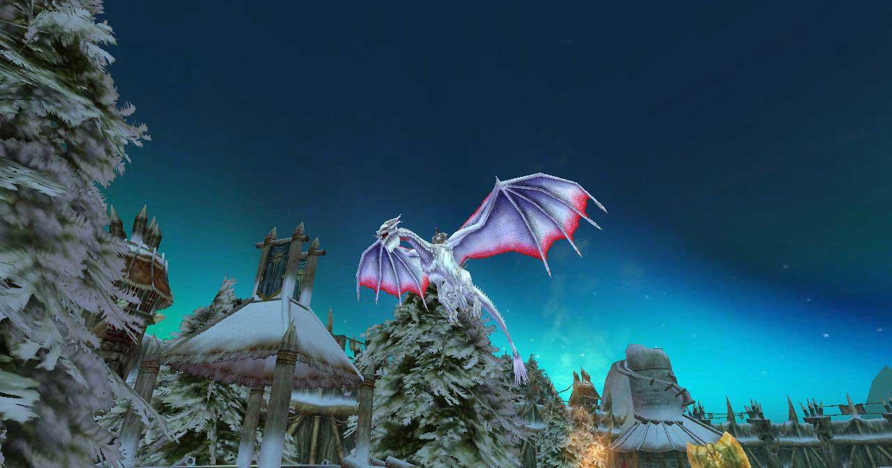 Скриншот к игре Повелители Драконов