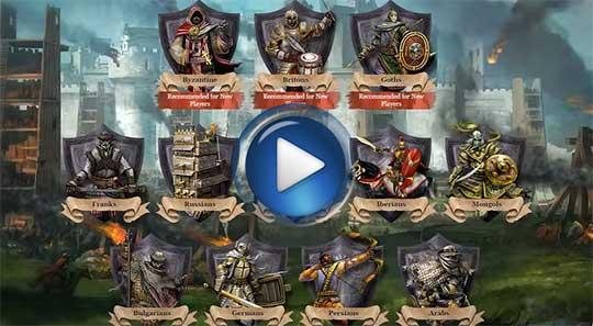 Официальный видео трейлер к игре Княжеские войны онлайн