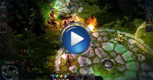 Официальный видео трейлер к игре Magicka: Wizard Wars