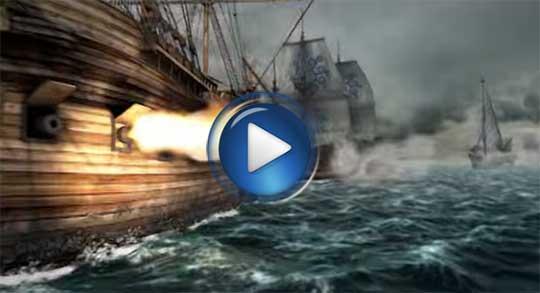 Официальный видео трейлер к игре SeaFight