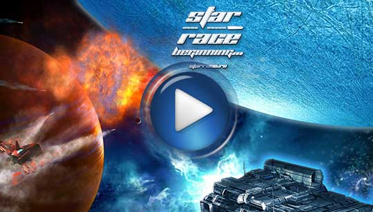Официальный видео трейлер к игре Star Race - Звездная Раса