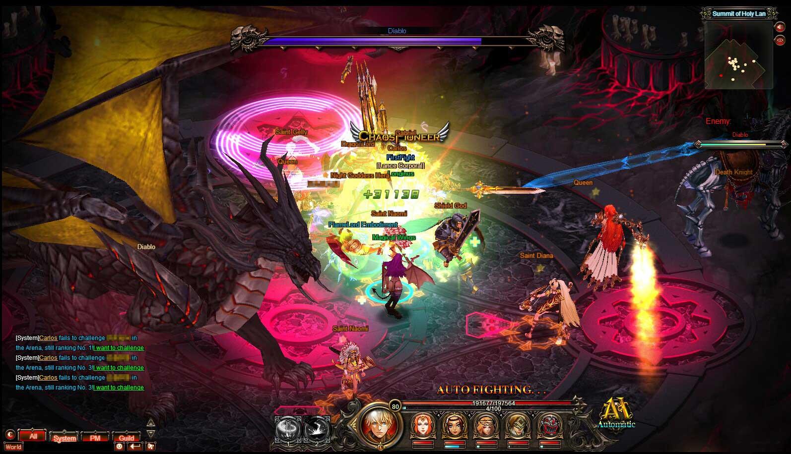 Скриншот к игре CHAOS