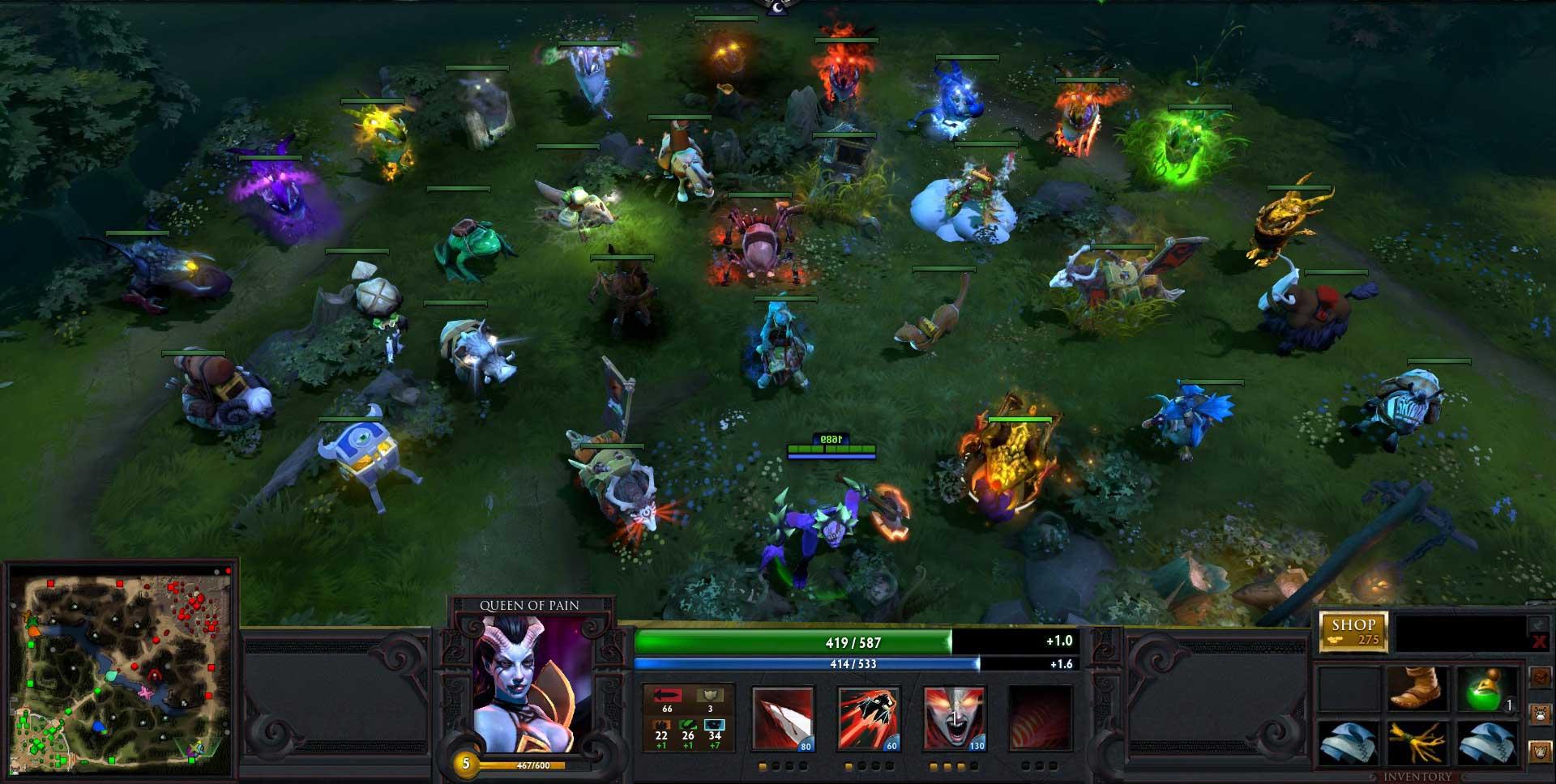 Скриншот к игре Дота 2
