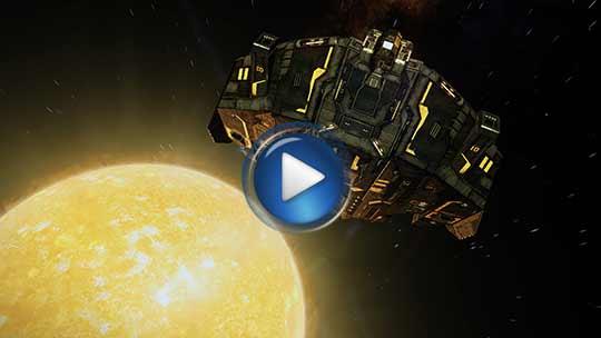 Официальный видео трейлер к игре Elite: Dangerous