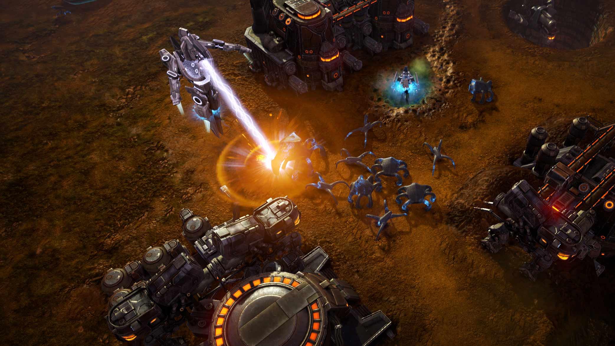 Скриншот к игре Grey Goo