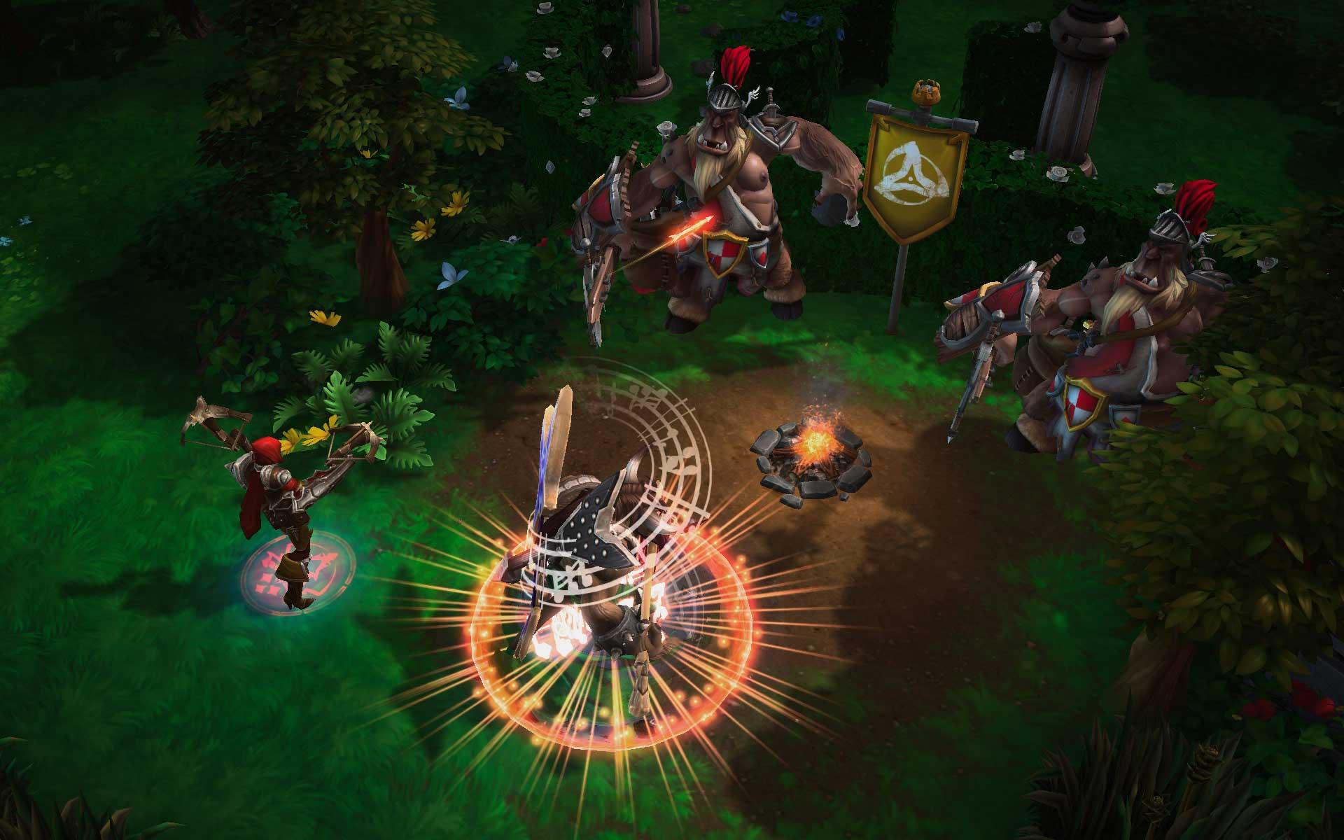 Скриншот к игре Heroes of the Storm