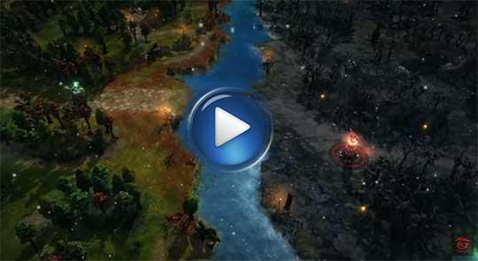 видео трейлер к игре Heroes of Newerth