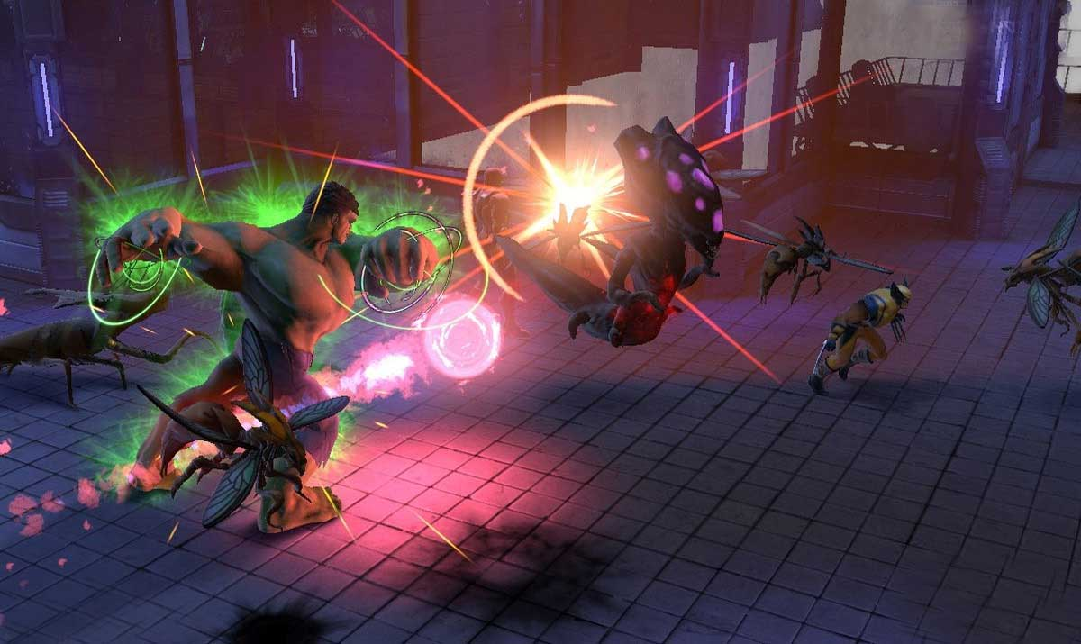Скриншот к игре Marvel Heroes 2015