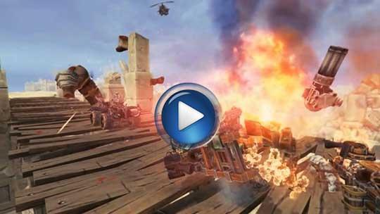 Официальный видео трейлер к игре Badland Bandits