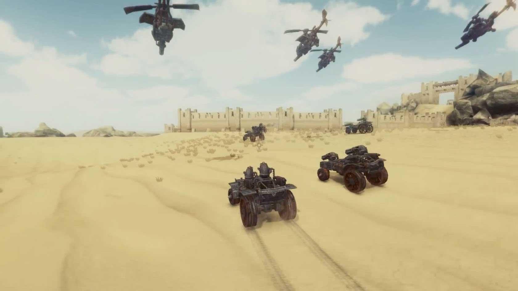 Скриншот к игре Badland Bandits