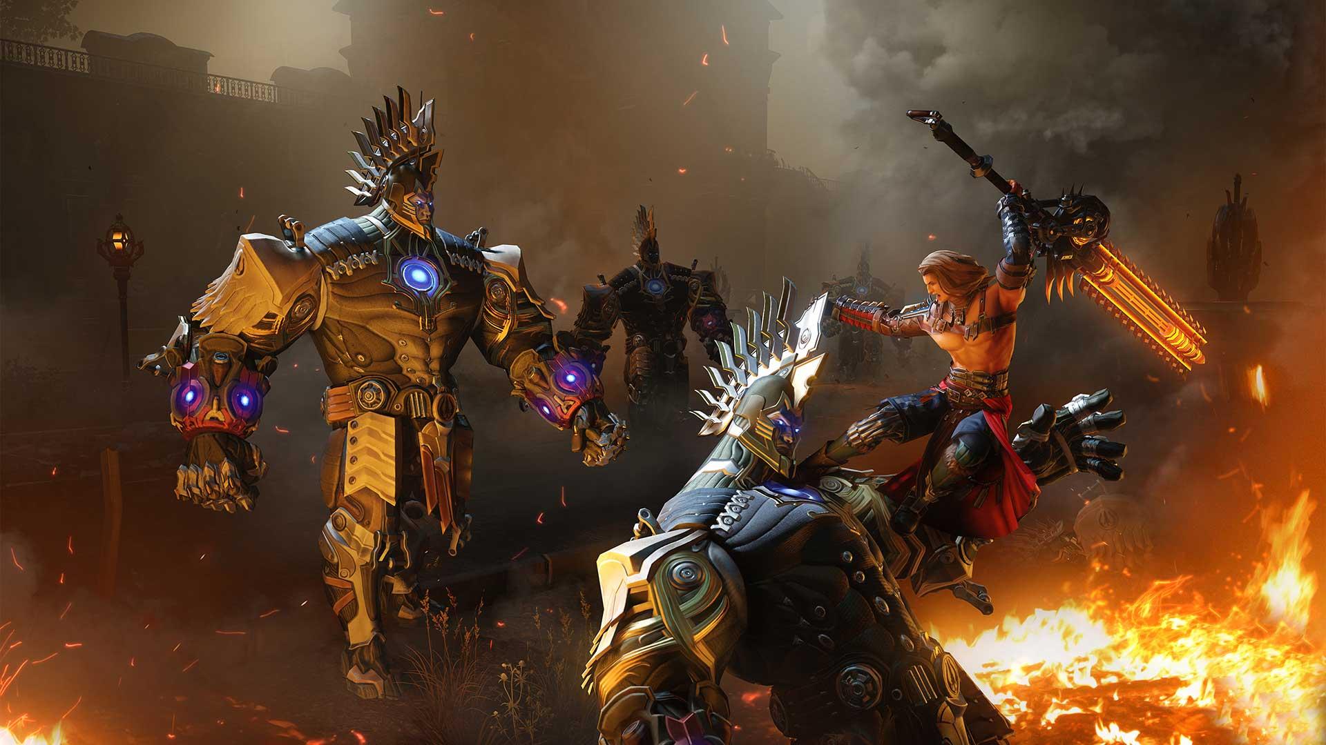 Скриншот к игре SkyForge