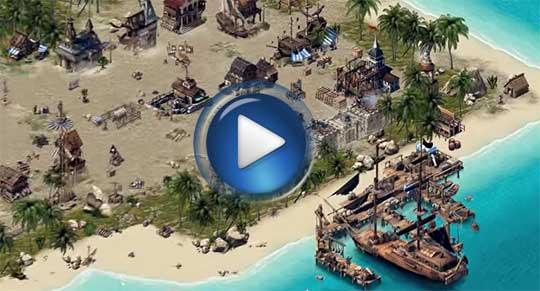 Официальный видео трейлер к игре Кодекс пирата