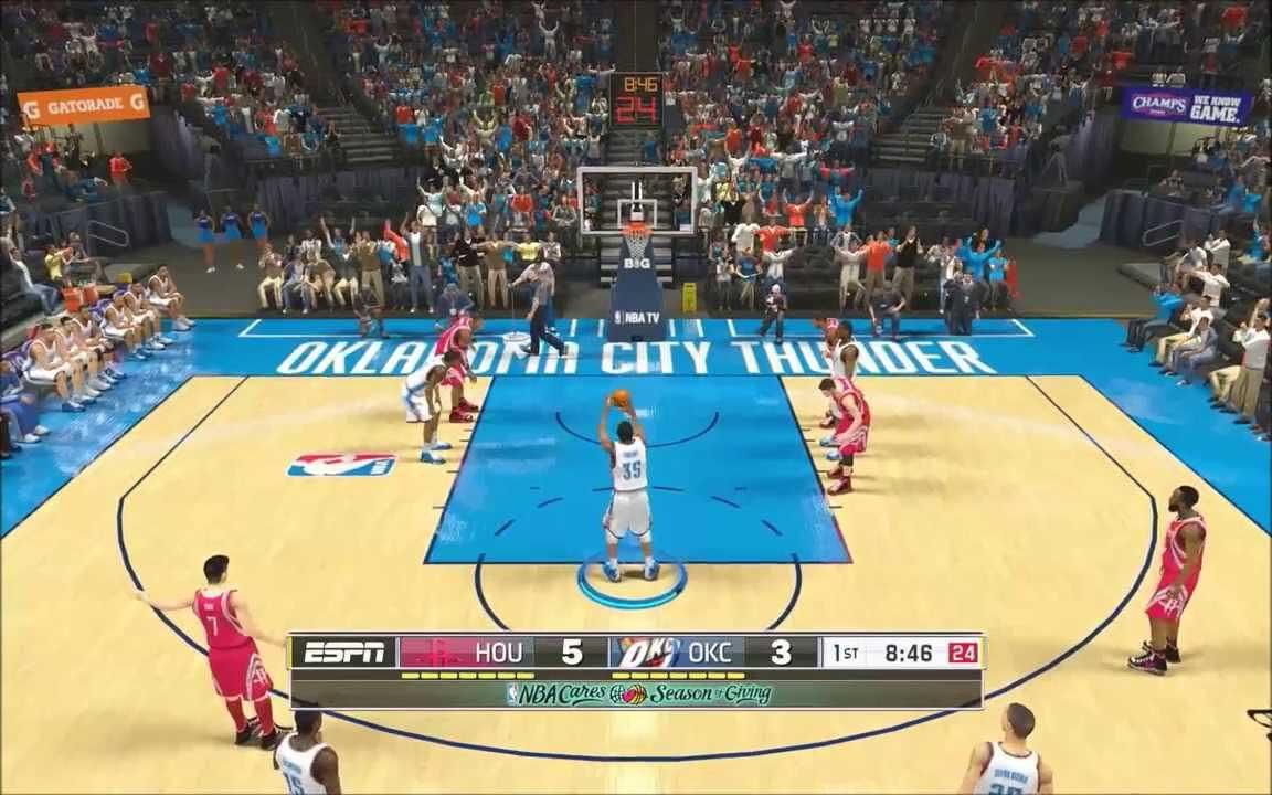 Скриншот к игре NBA 2K15