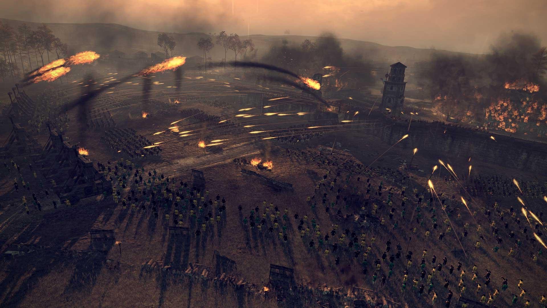 Скриншот к игре Total War: Attila