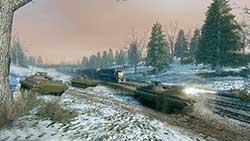 Armored Warfare - танки в лесу